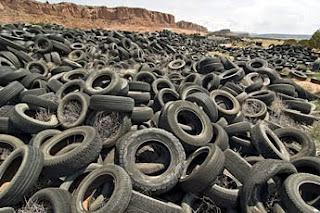 Perigos de pneus reciclados!