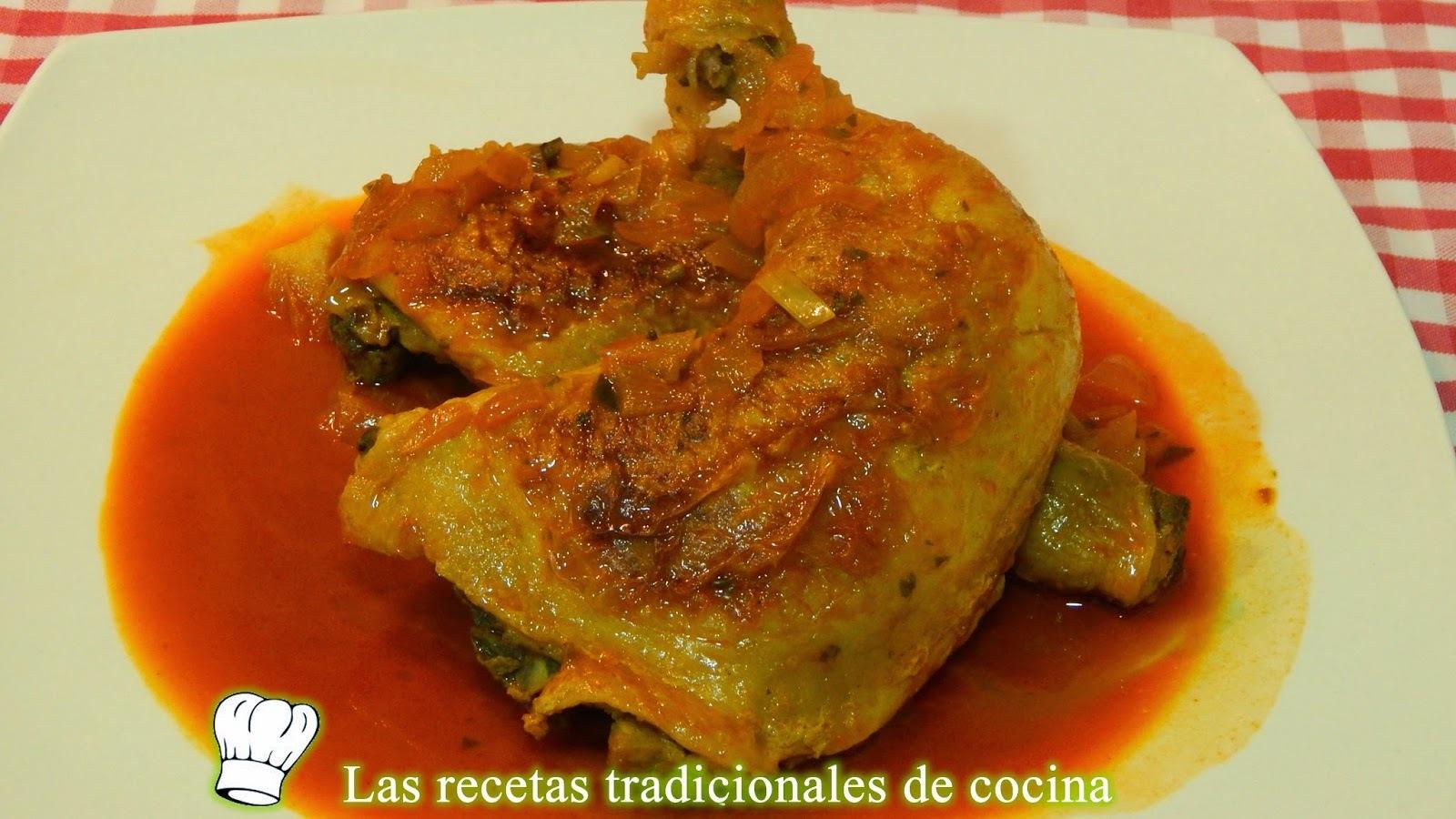 Receta de pollo con salsa de pimentón