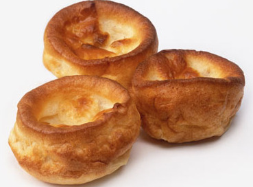 yorkshire pudding with onion gravy