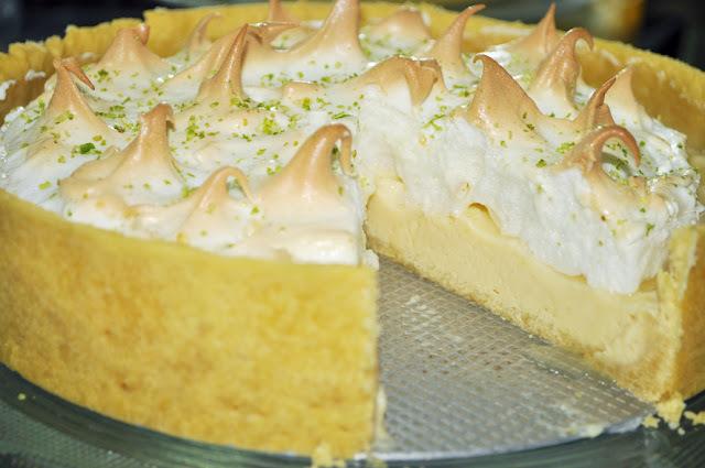 massa para torta de limao amanteigada