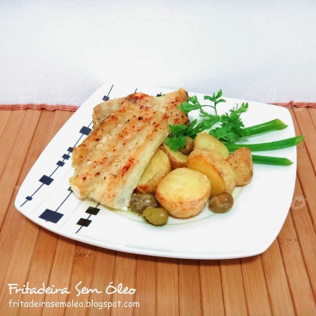 Bacalhau com Batatas na AirFryer