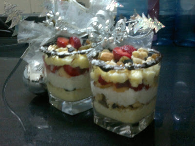 """Indian Trifle""!! New year dessert.."