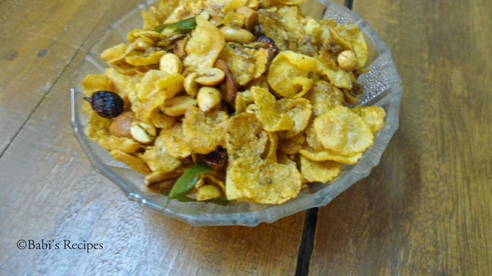 Cornflakes Mixture/Chivda | Easy Snack