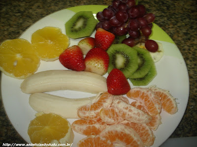 Refeição Divertida com Frutas - Como fazer?