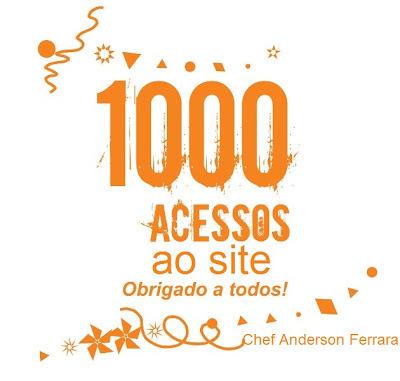 Obrigado por mais de 1000 acessos em menos de 2 meses!!