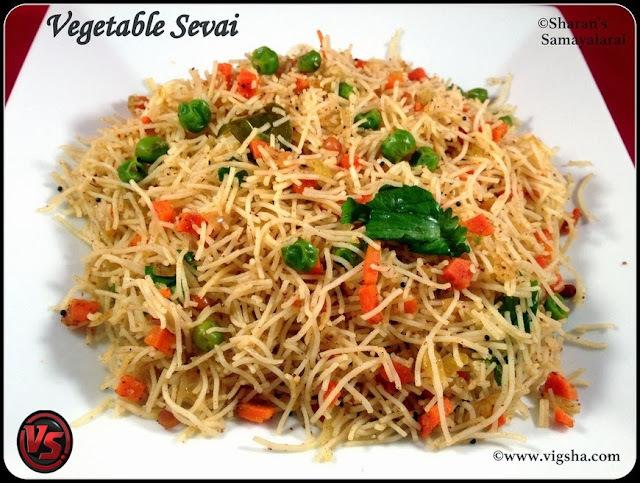 Vegetable Sevai | வெஜ் சேவை
