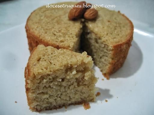 farinha de amendoas bolo