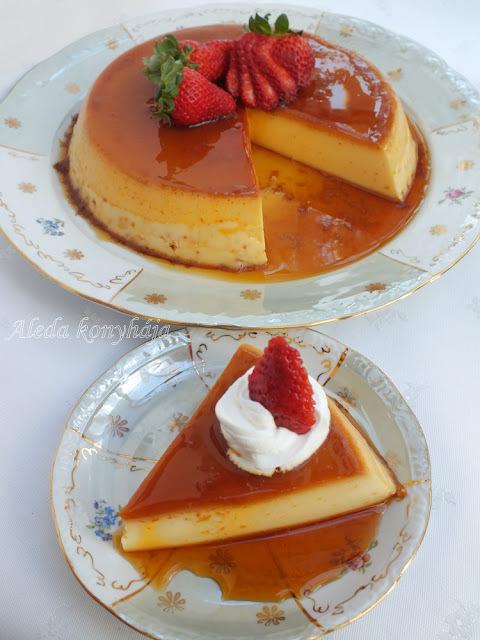 Karamellkrém torta