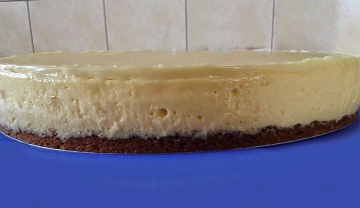 Torta Musse de Maracujá com Chocolate Branco