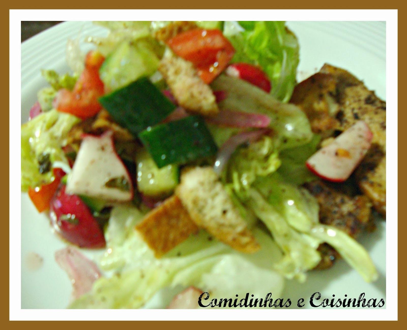 Salada Arabe, Fatuche