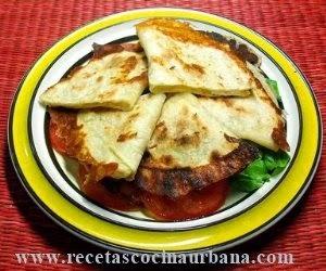 Quesadillas, antojito mexicano