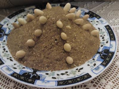 Recette marocaine : Sellou (sans beurre)