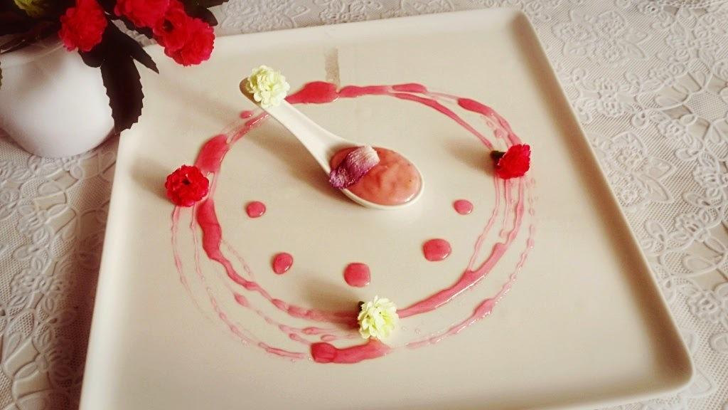 Brigadeiro gourmet - Àgua de Rosas