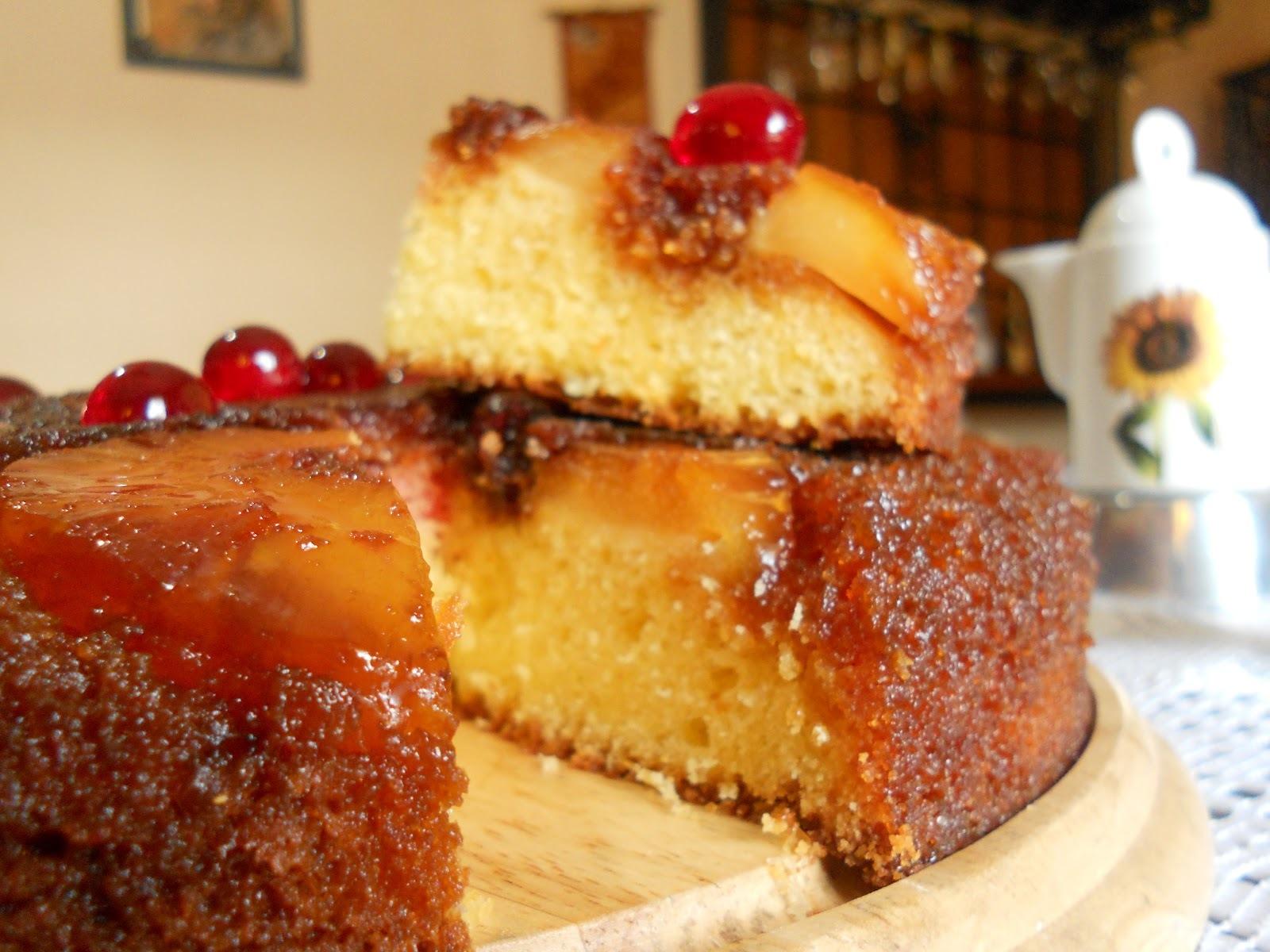 Torta invertida de ananá... ¡revolución en la cocina!