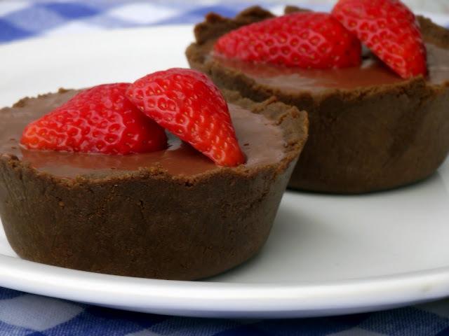 Tortinha de nutella