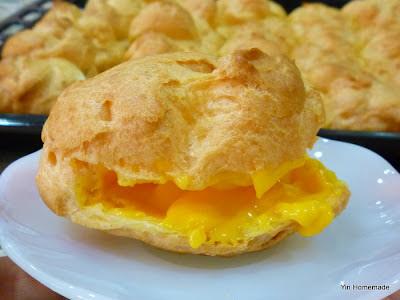 Custard Cream Puff 吉士 (卡士达) 泡芙