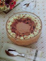 chantilly de chocolate para mousse