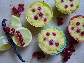 Citromkrémes muffin Blogkóstolóra - paleo