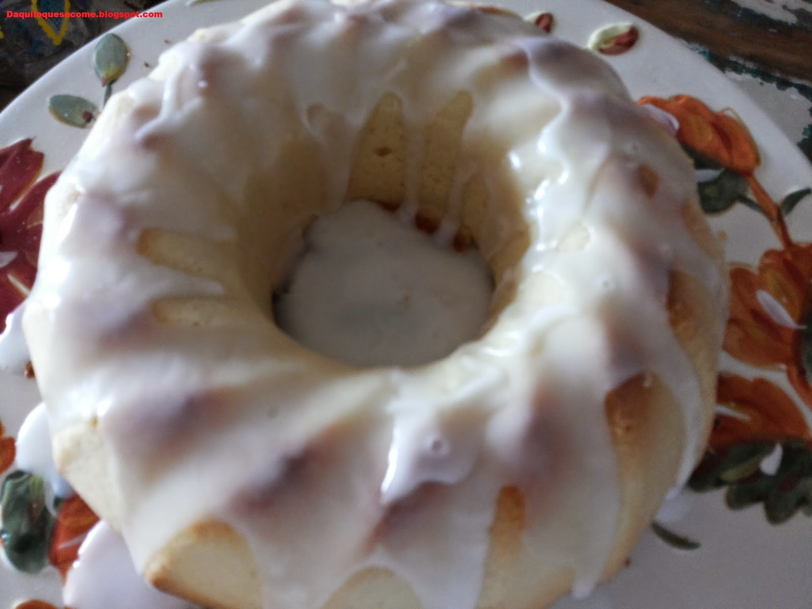 de bolo de manteiga grande e fofo