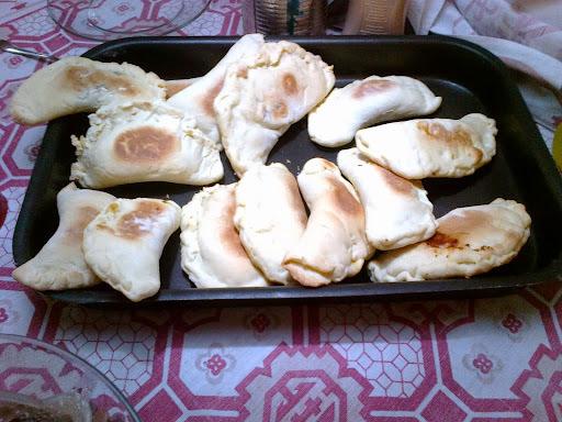 empanada com fermento biologico