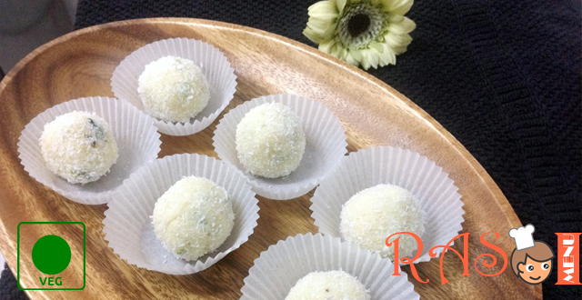 Coconut Ladoo Recipe - Indian Sweets Recipe