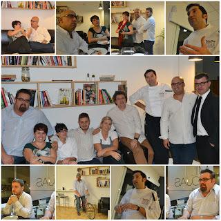 Cena de gastrobloggericos en Mil Hojas restobar
