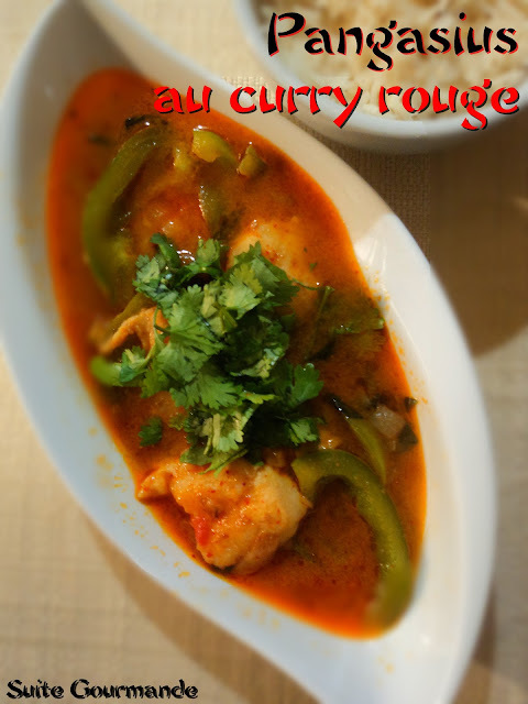 Pangasius au curry rouge