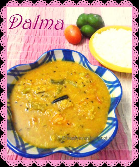 Dalma ~ A super-healthy oriyan Lentil Dish