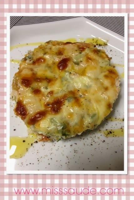 simples de omelete com aveia simples