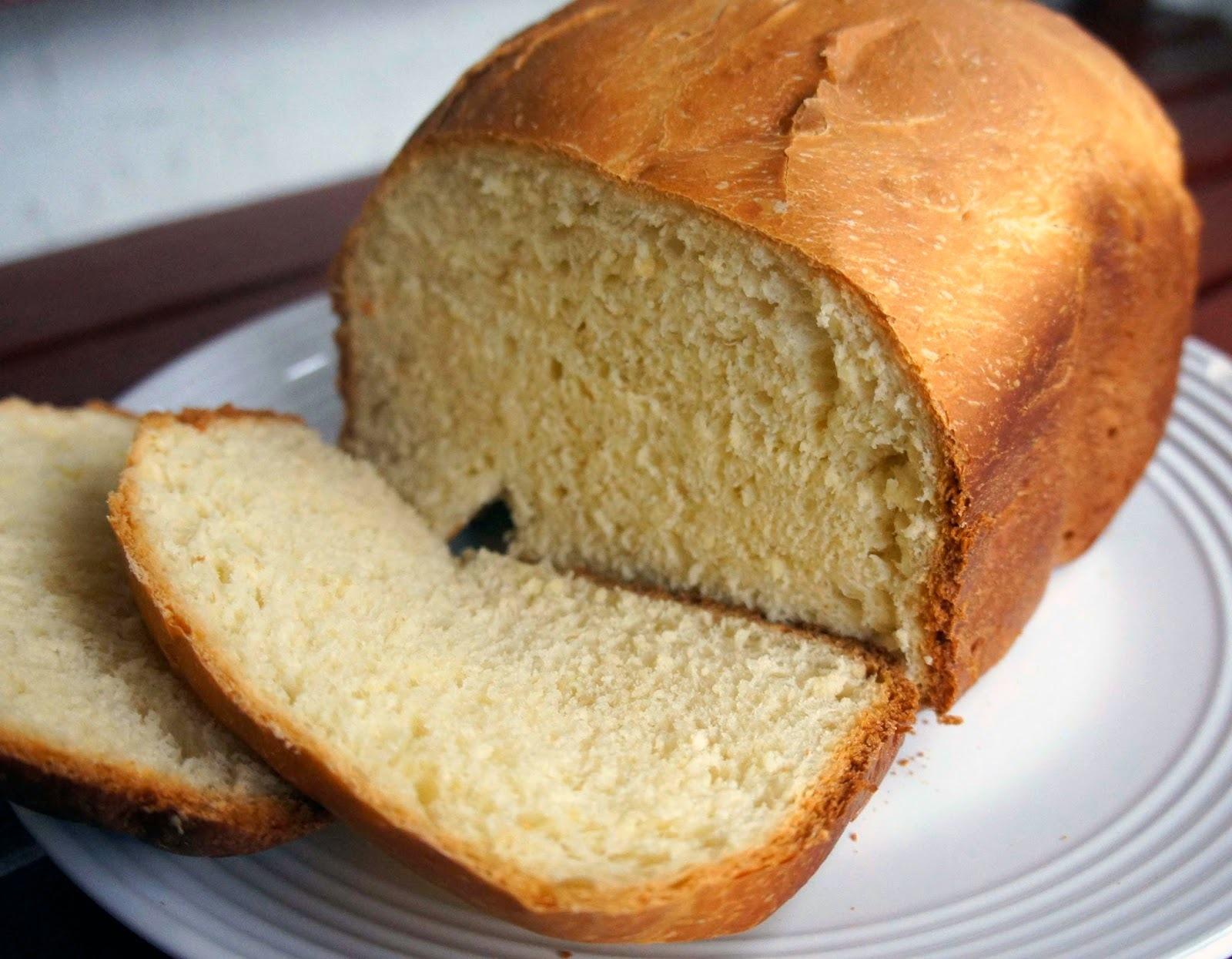 Pão branco caseiro [máquina de fazer pão]