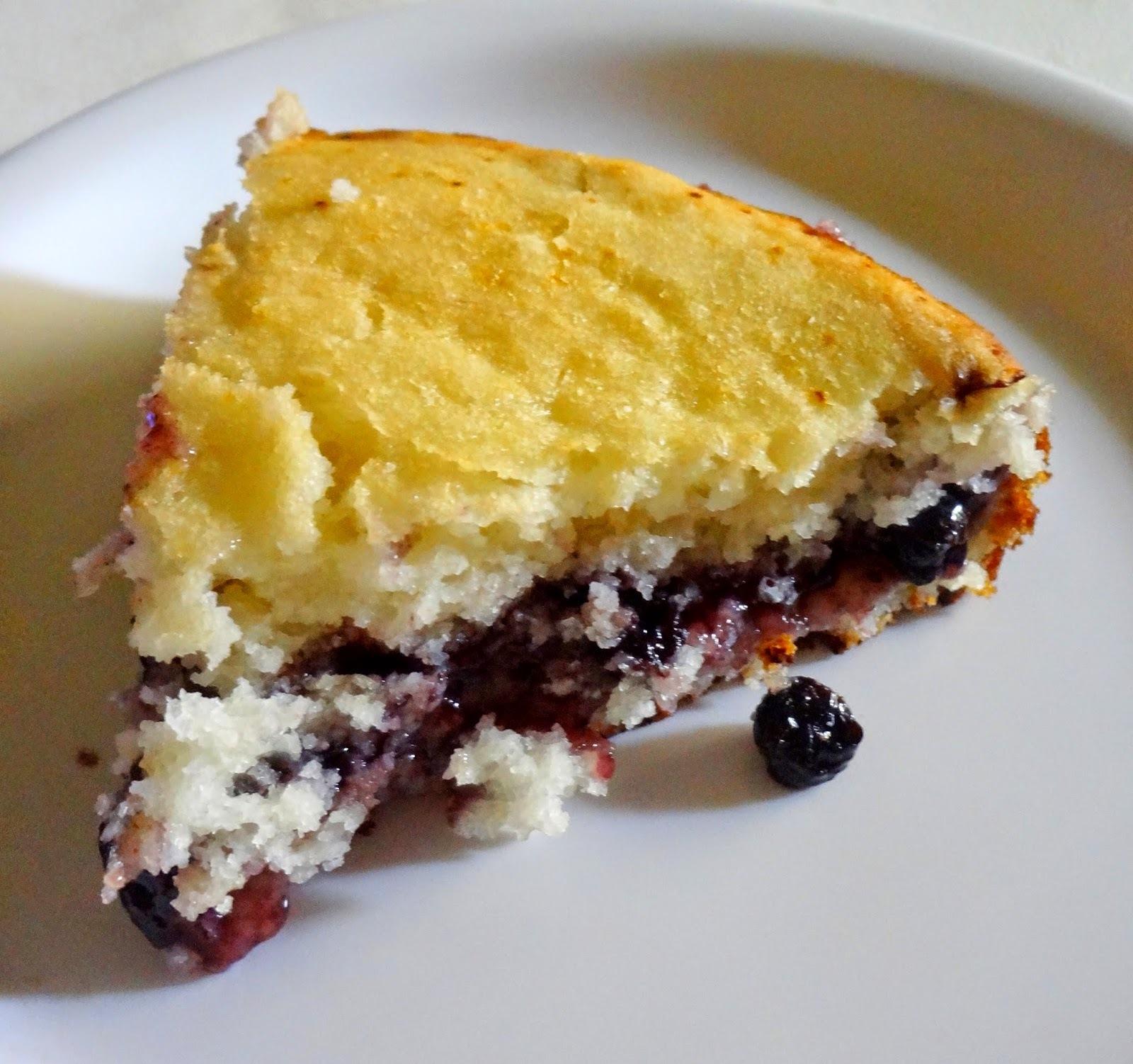 Blueberry Cake ( Eggless )