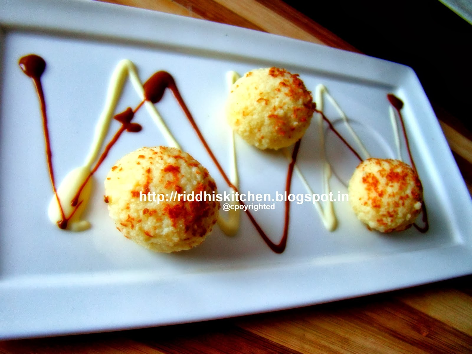 Paneer Da laddoo ( very simple + quick + delicious)