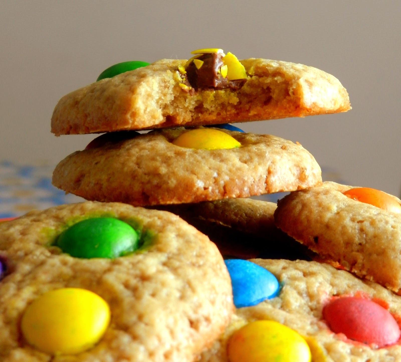 Cookies coloridos #diadascrianças
