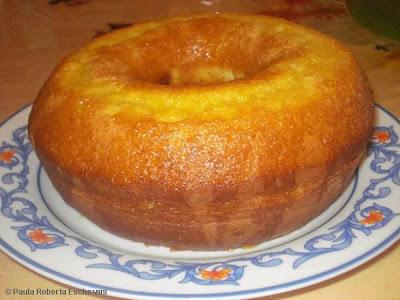bolo de laranja de liquidificador sem ovos