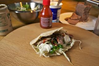 Doner Kebab at home