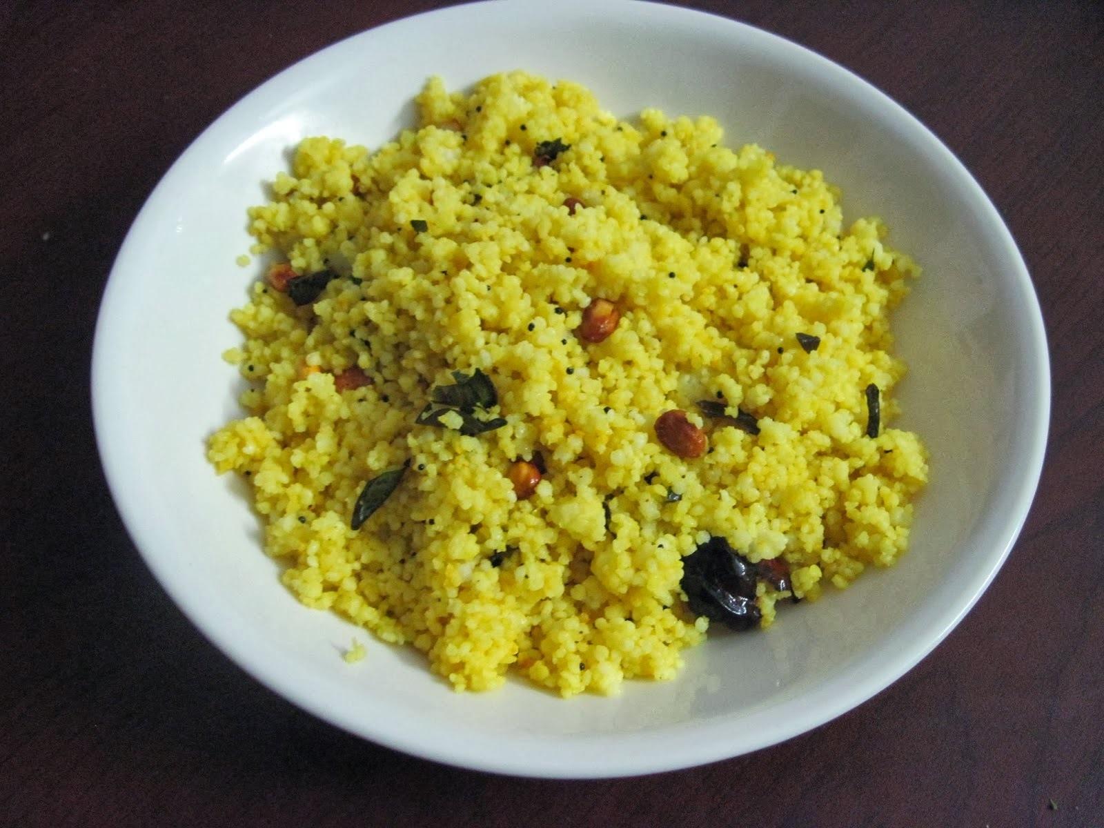 Kodo Millet  (varagu)Lemon Rice
