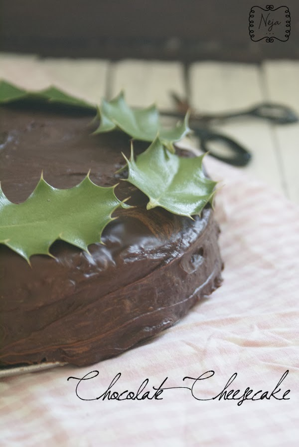 Chocolate Fudge Cheesecake / Čokoladna sirova torta