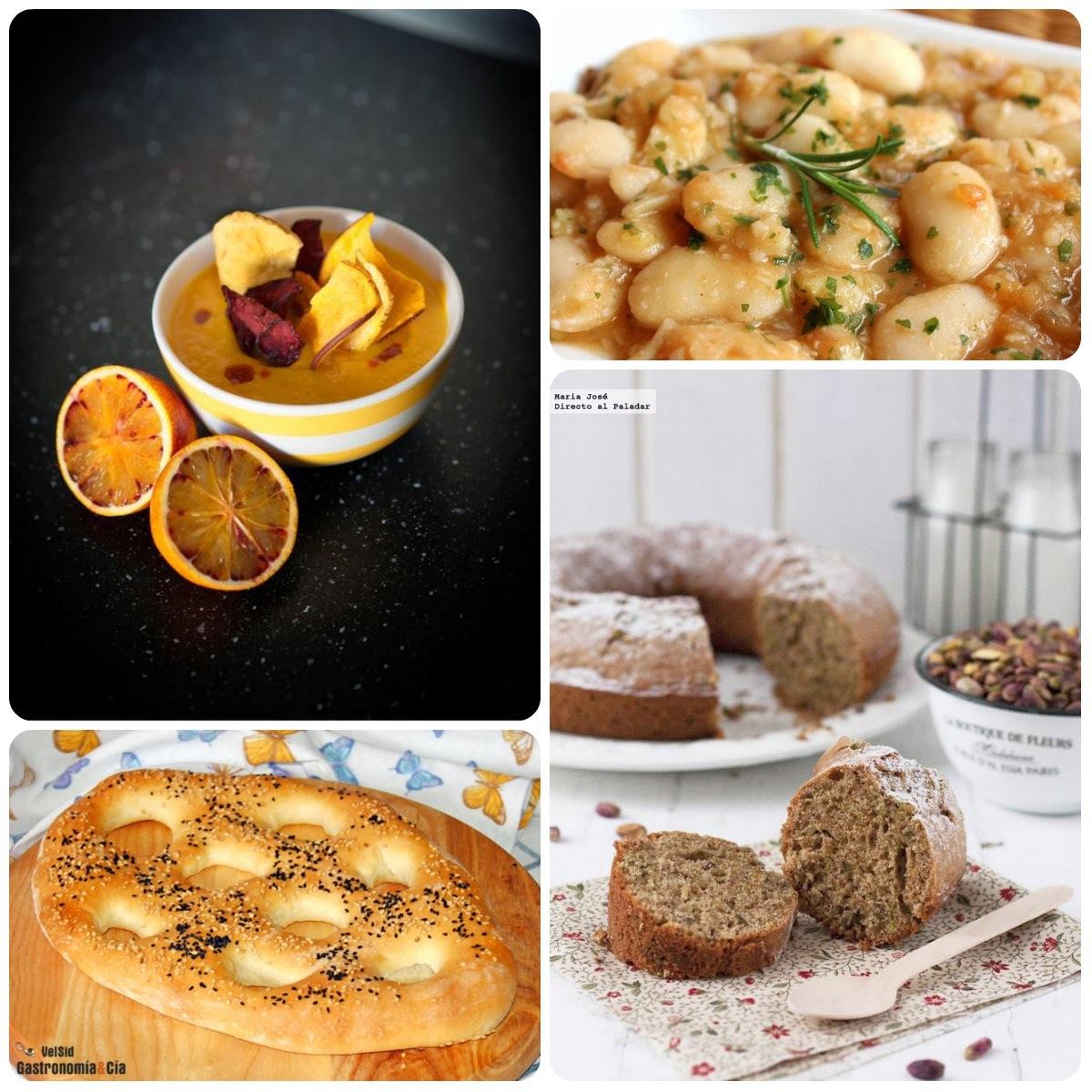 04 Menú vegetariano con recetas de otros blogs