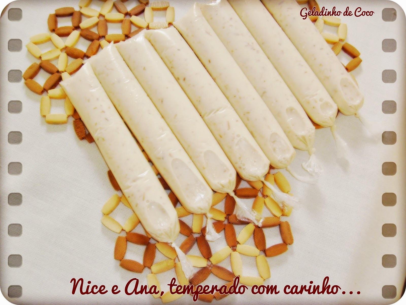 Geladinho de Coco Caramelizado