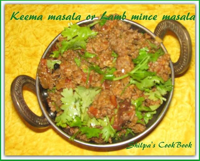 Keema Masala or Lamb mince masala