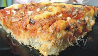 Torta salgada de sardinha e muçarela