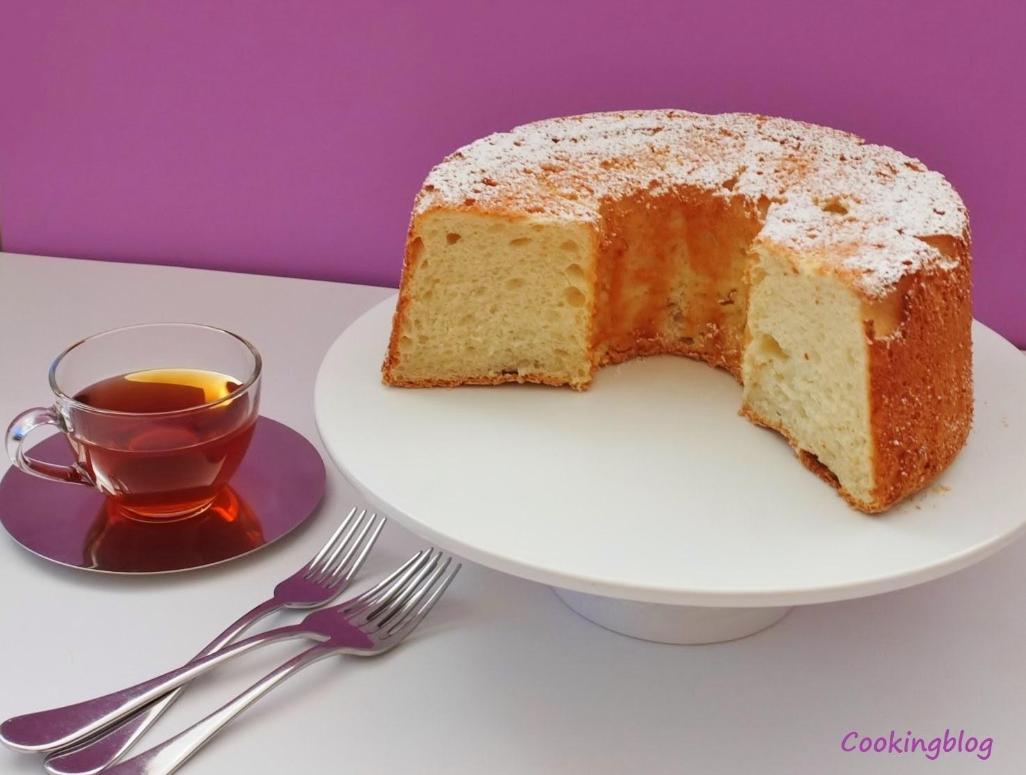 O bolo do Anjo | Angel Food Cake