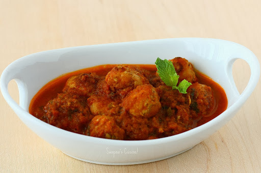 bread kofta without curd in hindi