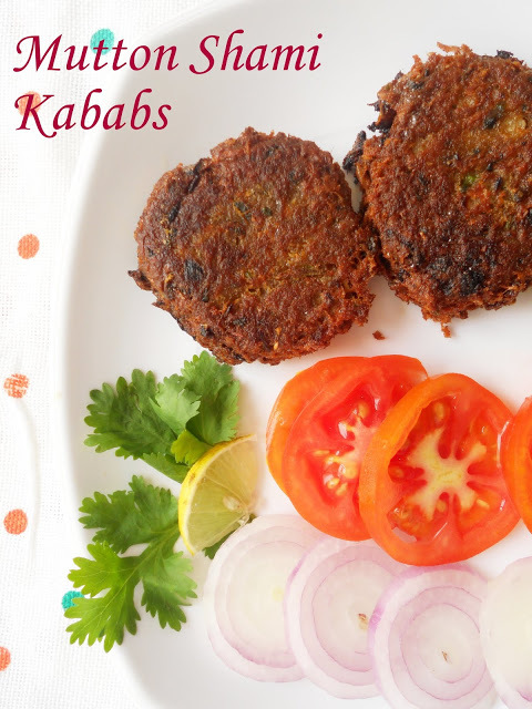Mutton Shami Kababs...step by step.