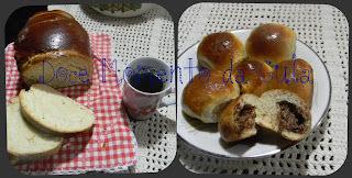 como fazer pão caseiro recheado com fermento biologico seco