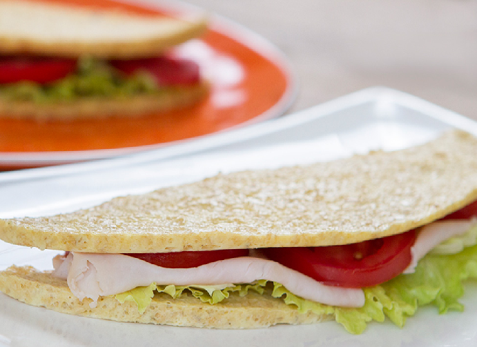 Pão de Micro-ondas sem Farinha