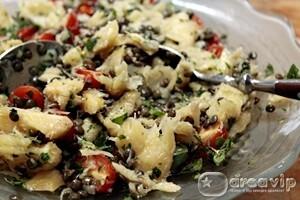 Salada de Bacalhau com Lentilha