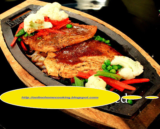 SIZZLING CHICKEN STEAK