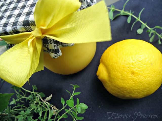 Curd de Limão Siciliano