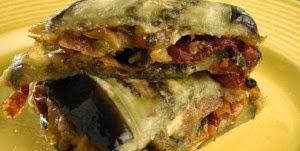 Sanduíche de Berinjela e Tomate Seco